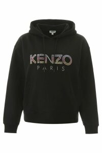 Kenzo Hoodie With Beaded Logo