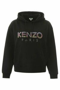 Kenzo Hoodie With Beaded Logo