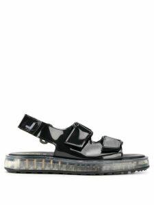 Joshua Sanders Air touch-strap sandals - Black