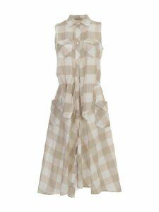 Sara Roka Cottton Scottish Sleeve Dress