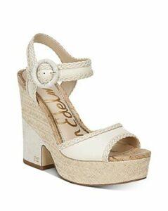Sam Edelman Women's Lillie Espadrille Wedge Platform Sandals