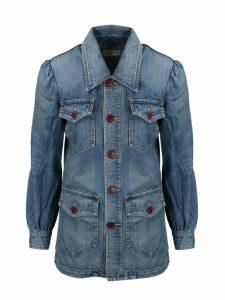 Celine Long Denim Jacket