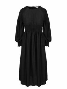 RED Valentino Silk Midi Dress
