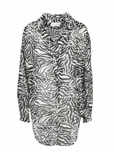 Saint Laurent Tigred Gauze Shirt