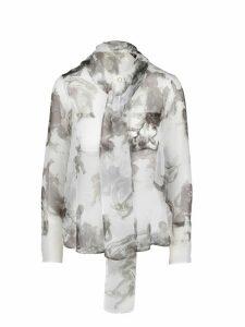 Burberry Amelie Chiffon Shirt
