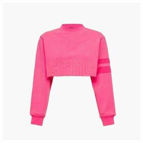 Gcds Crop Sweatshirt Cc94w021006