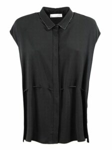 Fabiana Filippi Black Silk Blouse