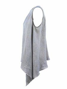 Fabiana Filippi Grey Linen Top