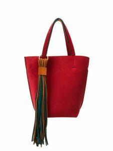Alila Lugano two-tone tote bag - Red