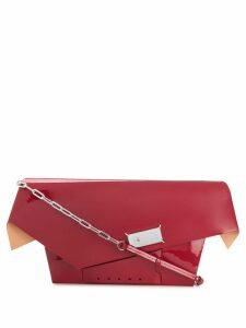 Maison Margiela large Snatched shoulder bag - Red