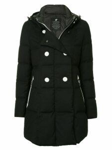 Loveless double breasted coat - Black