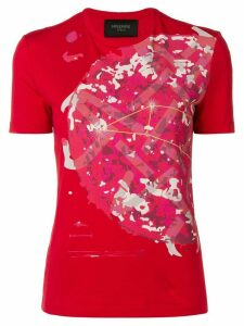 Mr & Mrs Italy camouflage print T-shirt - Red