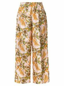La Doublej Polinesia ruffle trousers - PINK