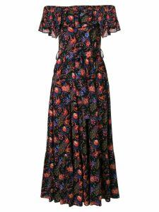 La Doublej Double Love Pavone dress - Black