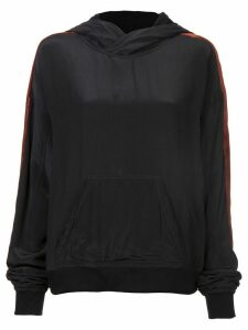 Haider Ackermann branded jersey sweater - Black