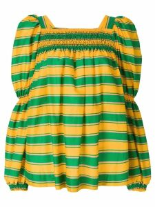 La Doublej striped blouse - Green
