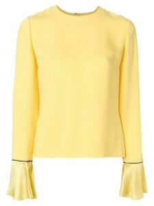 Roksanda wide cuff blouse - Yellow
