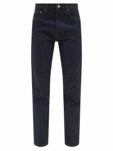 Re/Done Originals - Rigid Stove Pipe Cotton High-rise Jeans - Womens - Denim