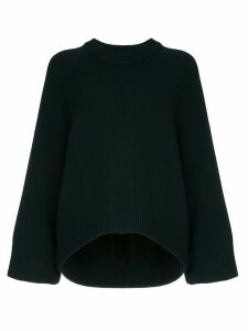Tibi round neck sweater - Blue