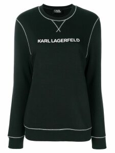 Karl Lagerfeld Karl's Essential sweatshirt - Black