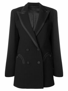 Blazé Milano double breasted blazer - Black