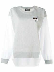 Karl Lagerfeld Ikonik Karl sweatshirt - Grey