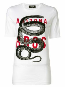 Dsquared2 Arizona print T-shirt - White