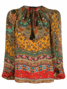 Etro printed blouse - Brown