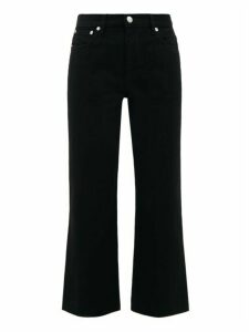 A.P.C. - Sailor High-rise Cropped Jeans - Womens - Black
