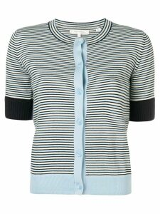 Chinti and Parker striped knitted cardigan - Blue