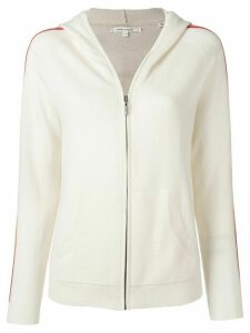 Chinti and Parker zip-up wool hoodie - NEUTRALS