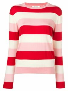 Chinti and Parker striped knitted sweater - PINK