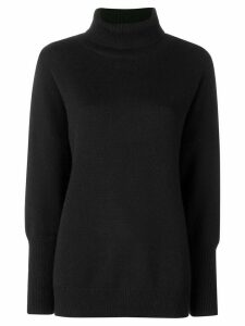 Chinti and Parker loose cashmere sweater - Black