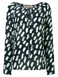 Marni long sleeve blouse - Blue