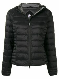 Canada Goose slim fit padded jacket - Black