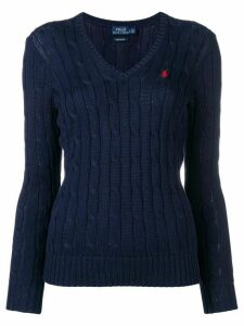 Polo Ralph Lauren cable knit pullover - Blue