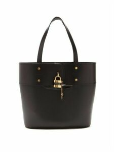 Chloé - Aby Small Leather Tote Bag - Womens - Black