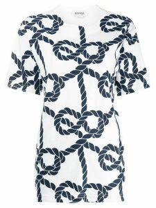 Monse nautical rope T-shirt - White