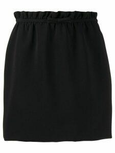 Miu Miu ruched waist skirt - Black