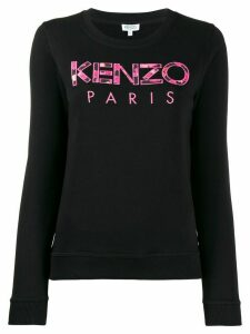 Kenzo logo sweatshirt - Black