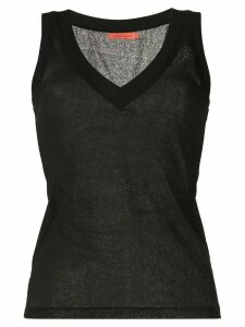 Manning Cartell v-neck tank top - Black