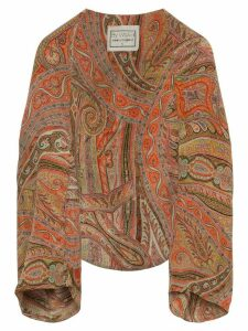 By Walid paisley print shrug - Multicolour