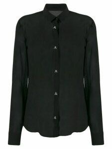 Philipp Plein sheer shirt - Black