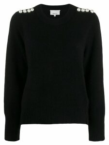 3.1 Phillip Lim Pearl Embellished Sweater - Black
