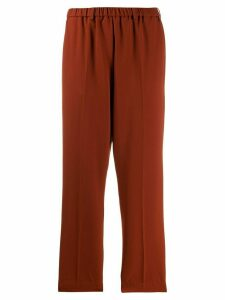Forte Forte straight-leg trousers - Red