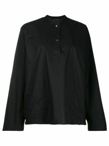 Sofie D'hoore oversized placket shirt - Black