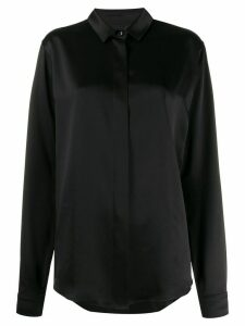 Saint Laurent classic loose-fit shirt - Black