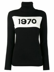 Bella Freud 1970 turtle neck jumper - Black