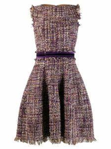 Talbot Runhof Golo dress - PURPLE