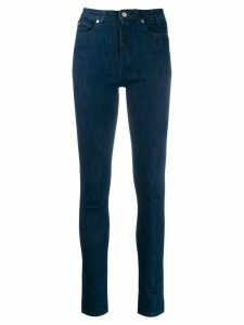 PS Paul Smith high-waist skinny jeans - Blue